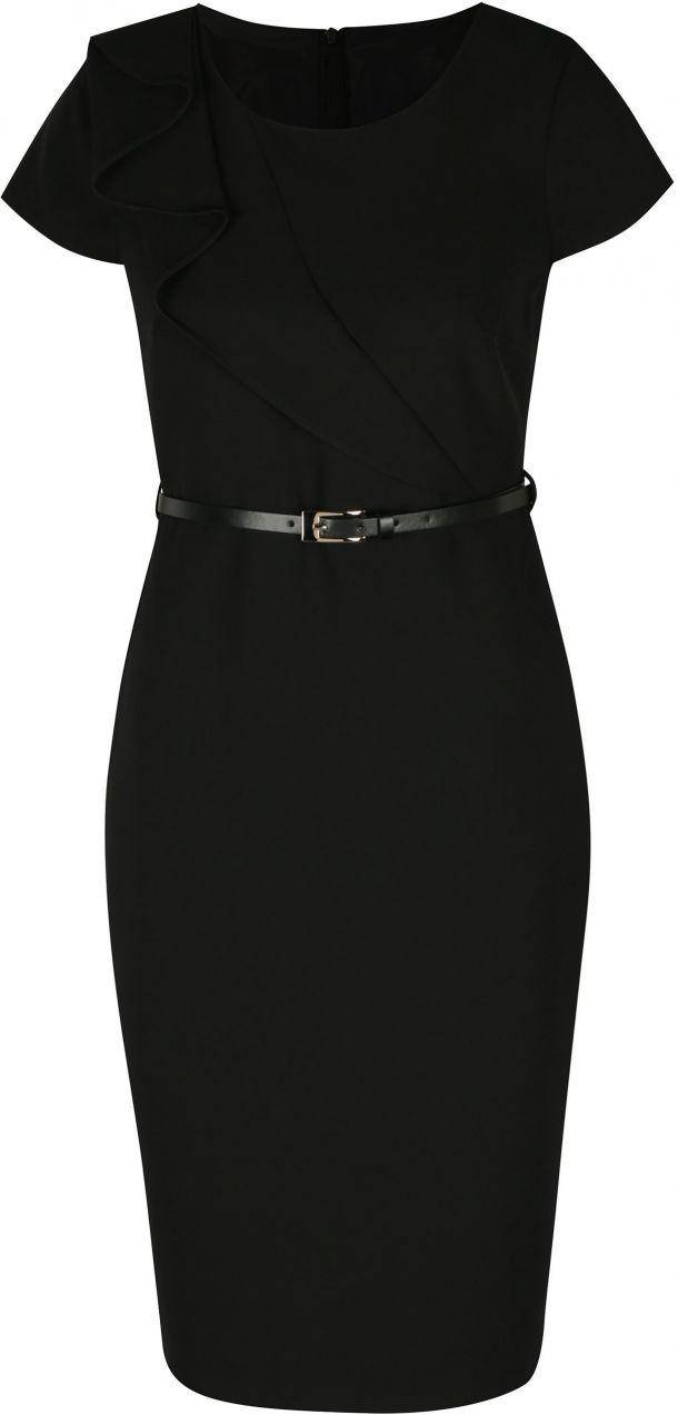3c77c04ec9 Čierne puzdrové šaty s opaskom Dorothy Perkins značky Dorothy Perkins -  Lovely.sk