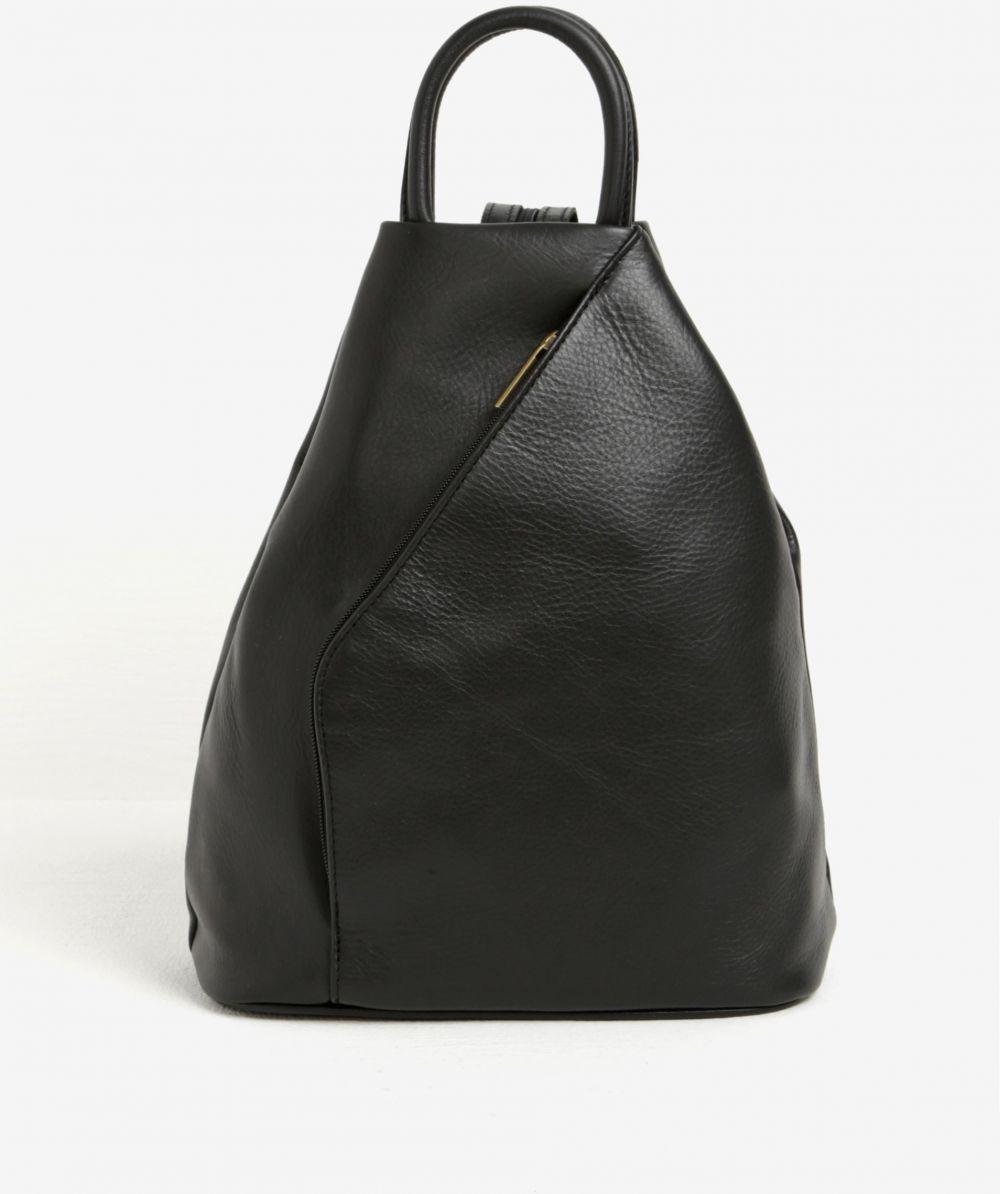 6b5381fc9b Čierny dámsky kožený batoh KARA značky KARA - Lovely.sk