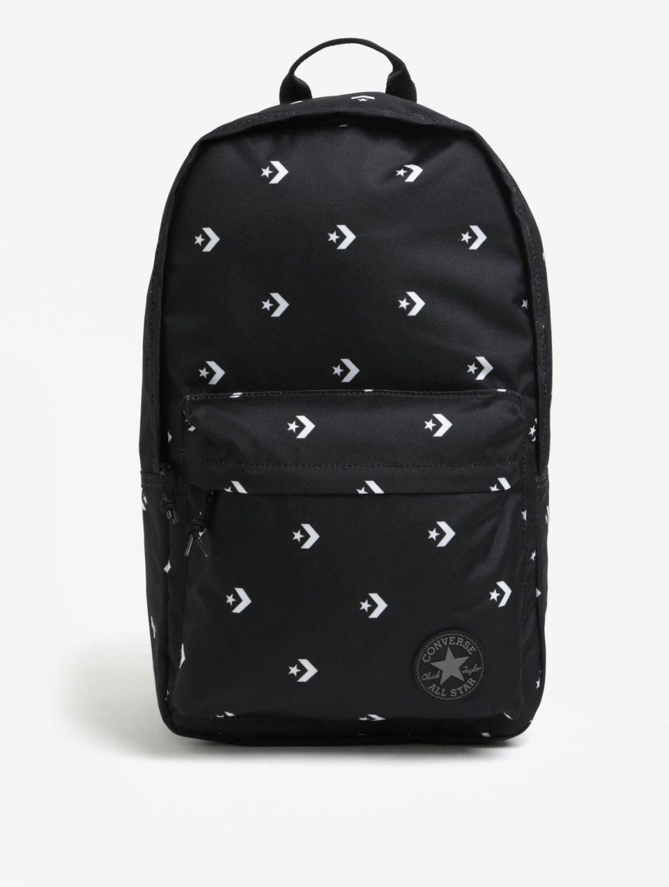 e88058ec2a Čierny batoh s potlačou Converse EDC Poly 19 l značky Converse - Lovely.sk