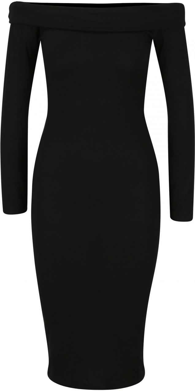 Čierne šaty s odhalenými ramenami MISSGUIDED značky Missguided - Lovely.sk 8339e9dad5f