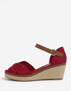dc489cf126f1 Julie Julie Dámske sandále 349 103 INTRECCIO ROSSO BIANCO značky ...