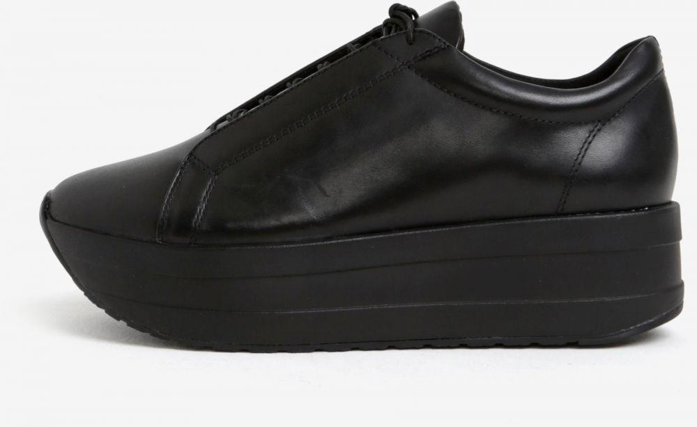 83e5ba66db2d Čierne dámske kožené tenisky na platforme Vagabond Casey Sister značky  Vagabond - Lovely.sk