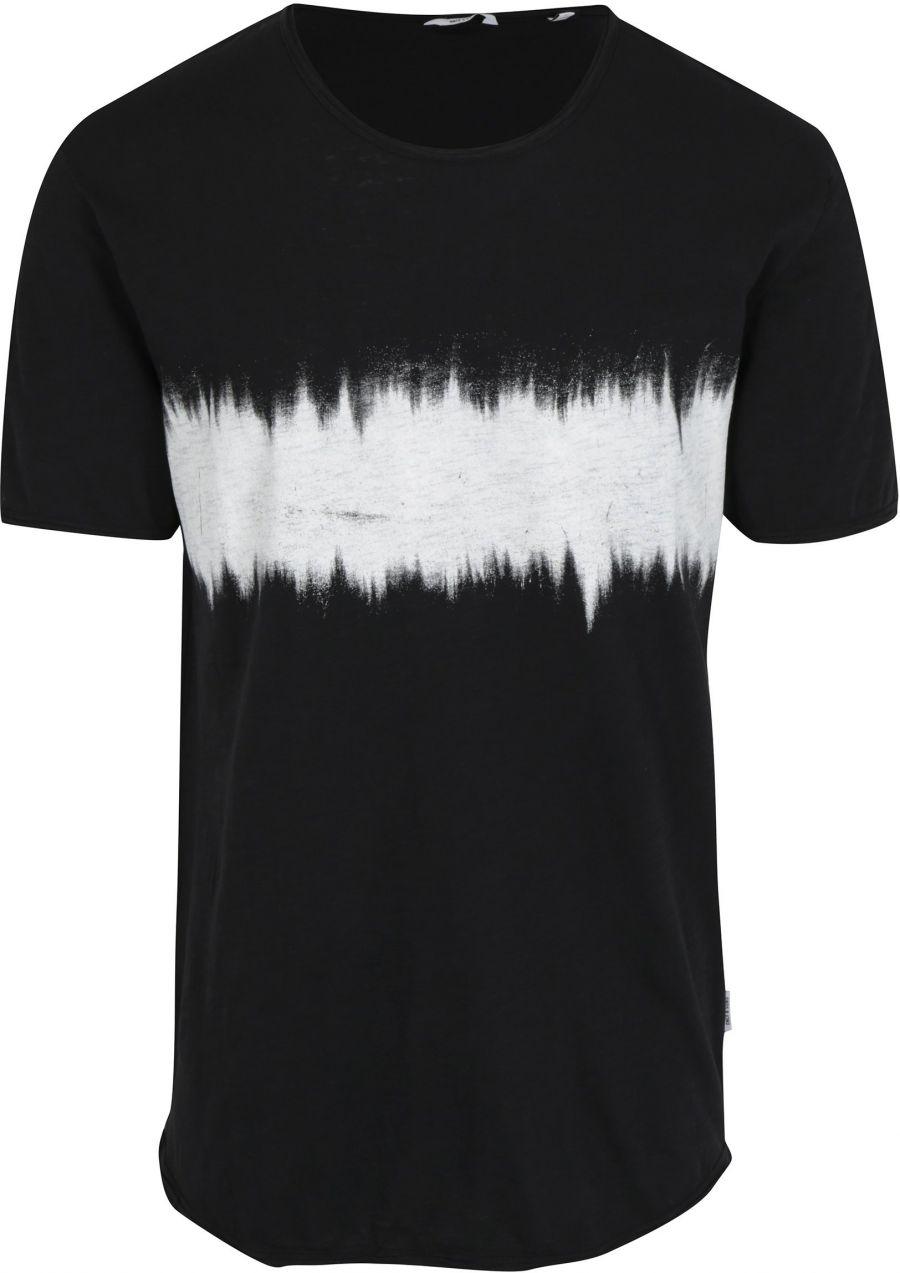 c6f649c65f2a Čierne dlhé tričko s potlačou ONLY   SONS Samuel značky ONLY   SONS -  Lovely.sk