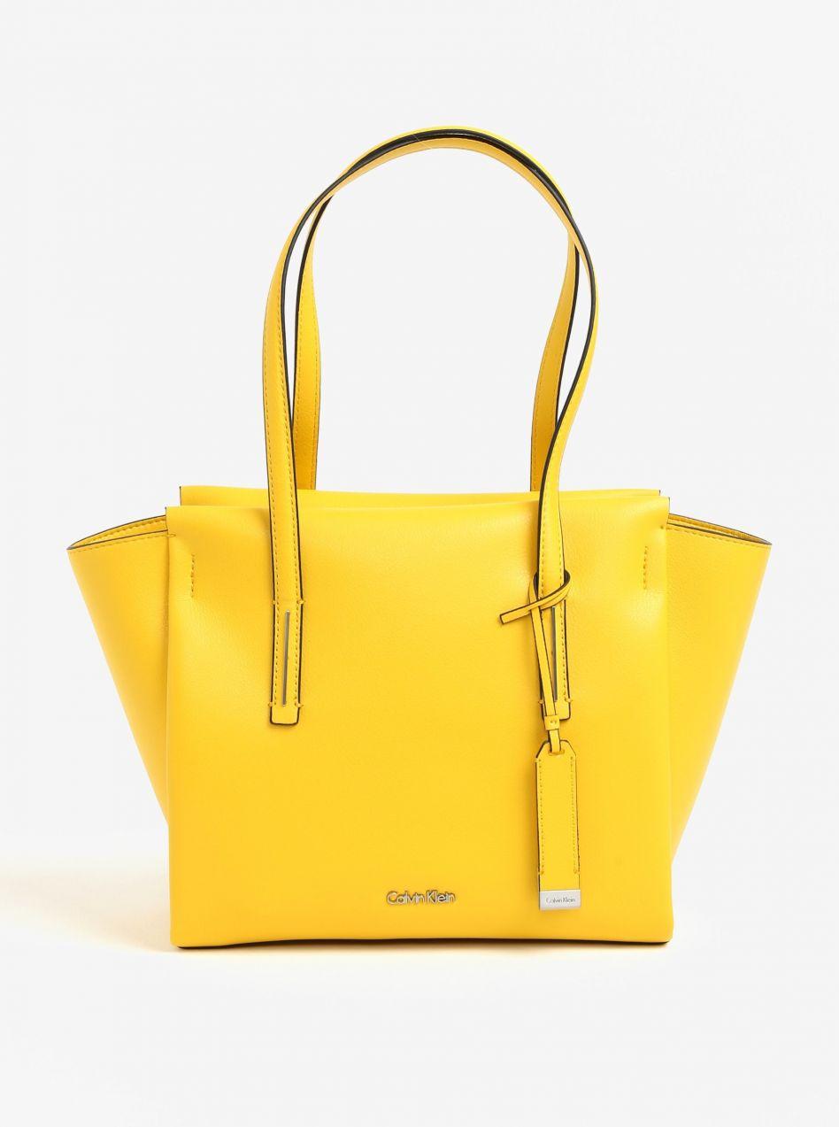 Žltá kabelka Calvin Klein Jeans značky Calvin Klein Jeans - Lovely.sk c15bebfd213