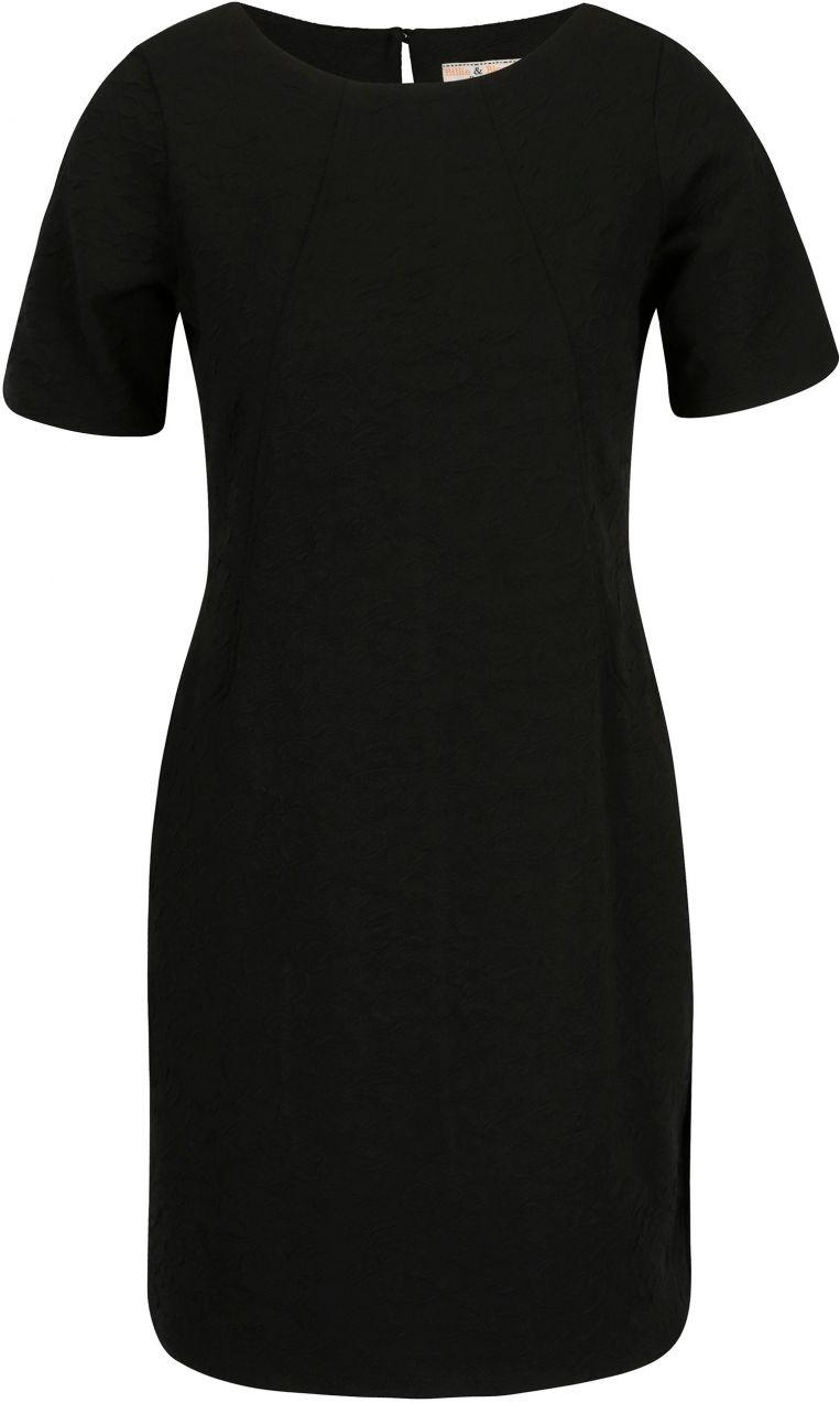 Čierne šaty s jemným plastickým vzorom Billie   Blossom Petite značky  Billie   Blossom - Lovely.sk 65829006929