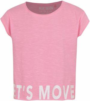 Ružové dievčenské tričko s potlačou Blue Seven značky Blue Seven ... 04231293563