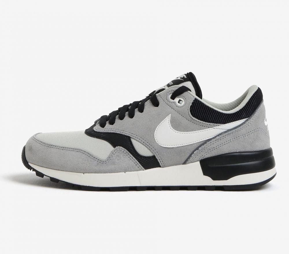 Čierno-sivé pánske tenisky so semišovými detailmi Nike Air Odyssey značky  Nike - Lovely.sk 91ea9f3da51