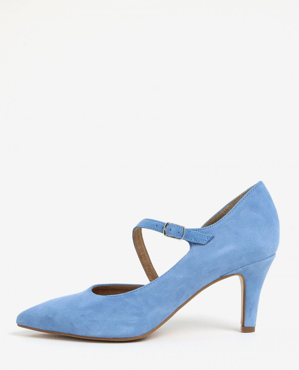 Modré semišové lodičky Tamaris značky Tamaris - Lovely.sk 43ca5a28462