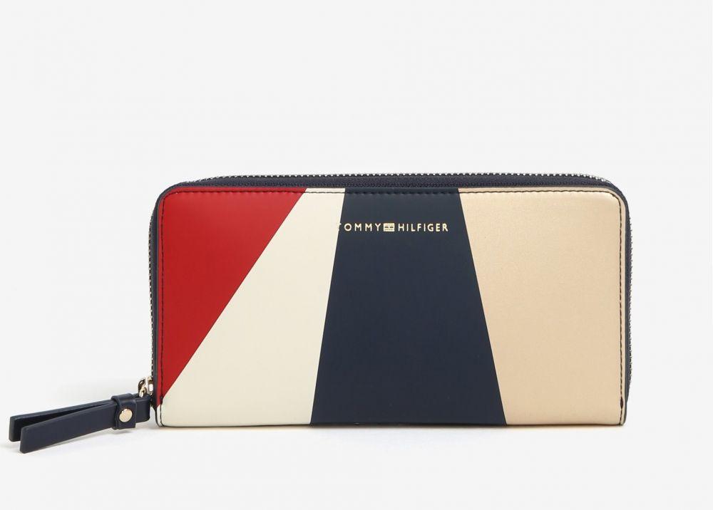 Červeno-modrá dámska peňaženka Tommy Hilfiger značky Tommy Hilfiger -  Lovely.sk 1e710ccd952