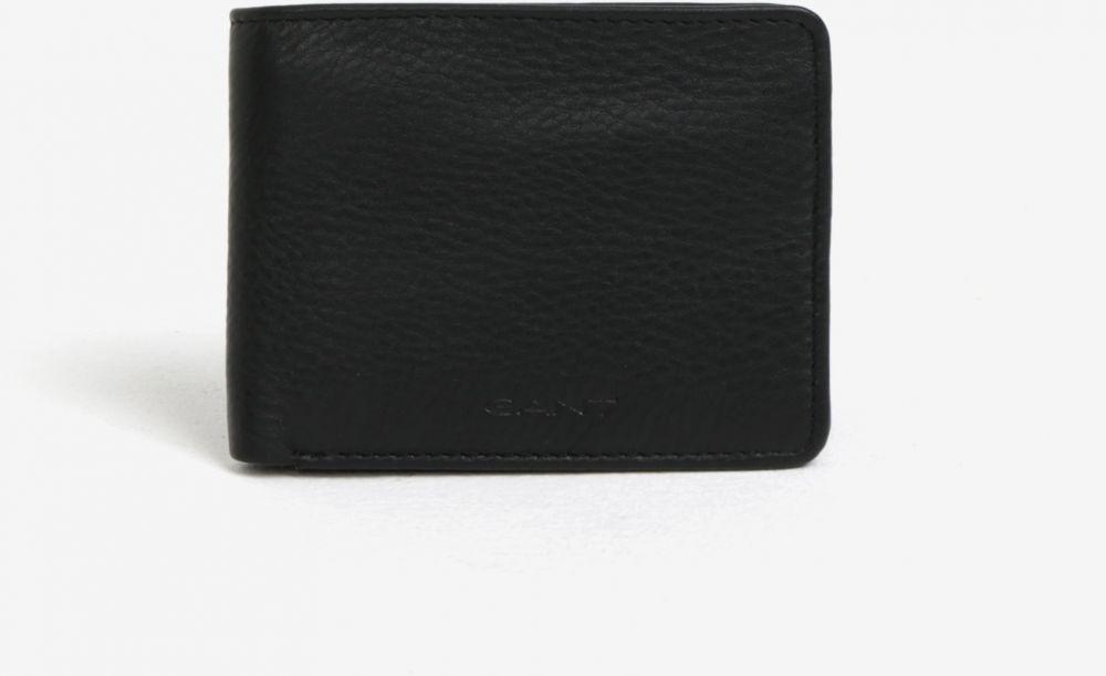 90a7995d3f Čierna pánska kožená peňaženka GANT značky Gant - Lovely.sk