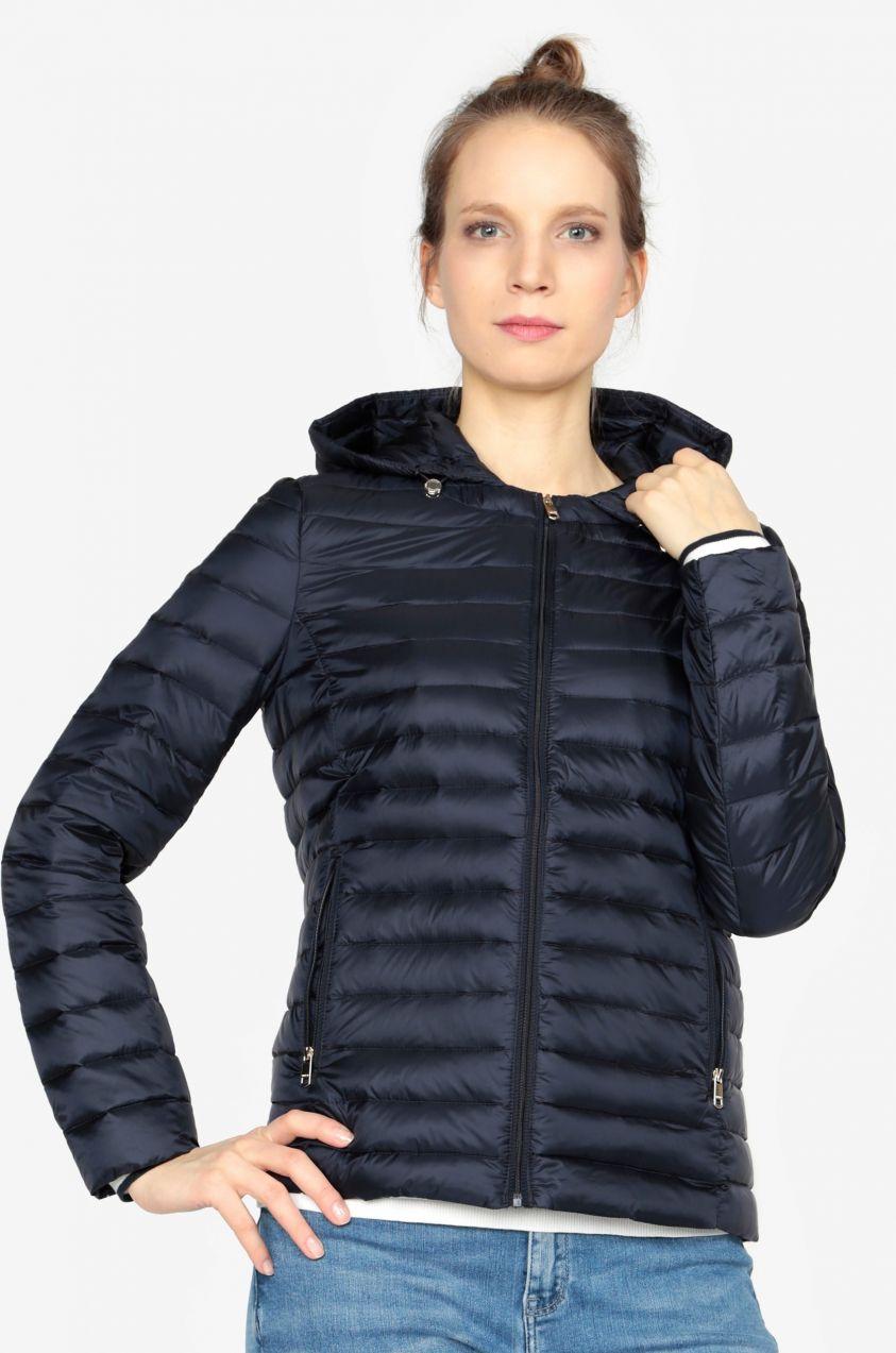 b23f11977a Tmavomodrá prešívaná zimná bunda Tommy Hilfiger značky Tommy Hilfiger -  Lovely.sk