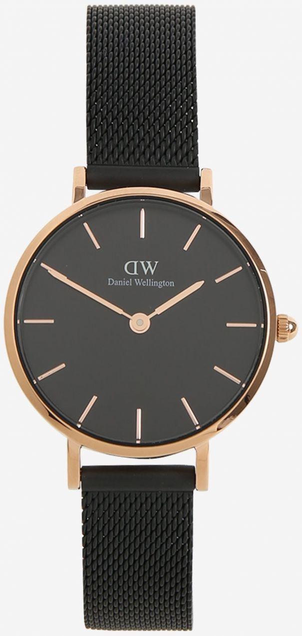 cc278fd9d4bb Dámske čierne hodinky Daniel Wellington značky Daniel Wellington - Lovely.sk