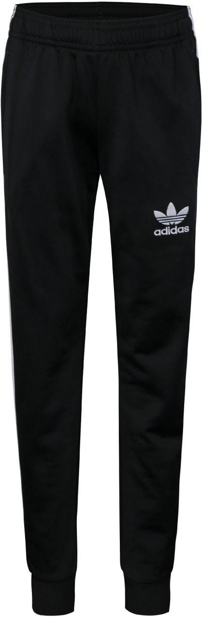 Čierne chlapčenské tepláky s bielymi pruhmi adidas Originals značky adidas  Originals - Lovely.sk 8e67cc519e1