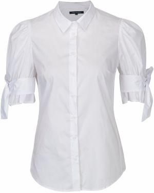 bd22dde2b1a8 Biela košeľa s mašľou na rukávoch French Connection Eastside