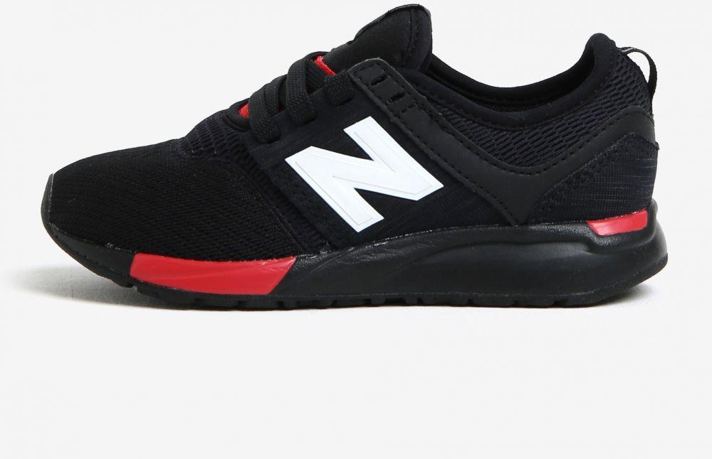 2ee98d991cd36 Čierne detské tenisky New Balance značky New Balance - Lovely.sk