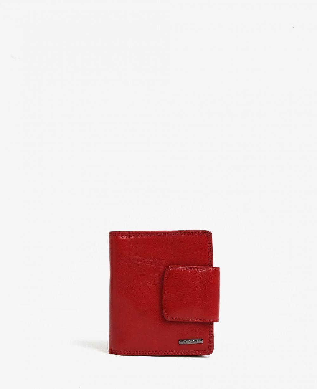 a43ea826598a Červená dámska kožená peňaženka KARA značky KARA - Lovely.sk