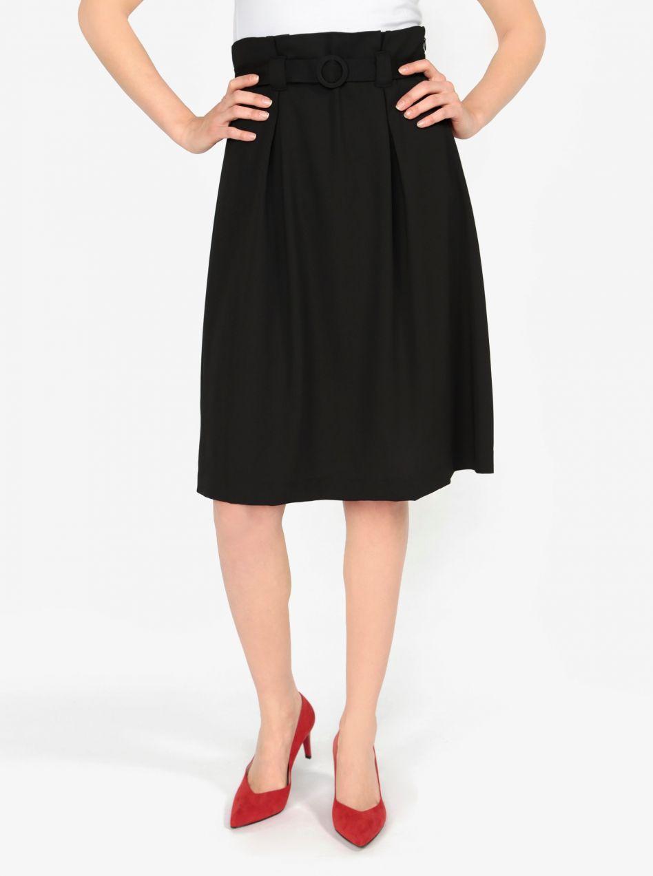 7873f5a65eca Čierna áčková sukňa s opaskom VERO MODA Emmy značky Vero Moda ...