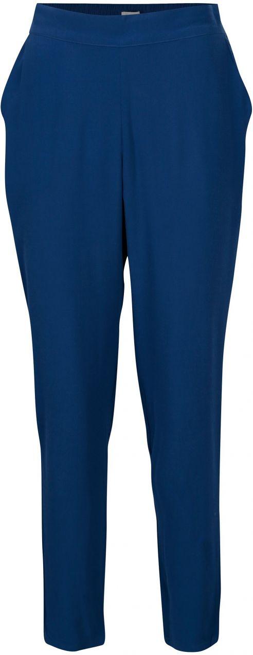 199f6b2ba389 Modré voľné nohavice s vysokým pásom Yerse značky Yerse - Lovely.sk