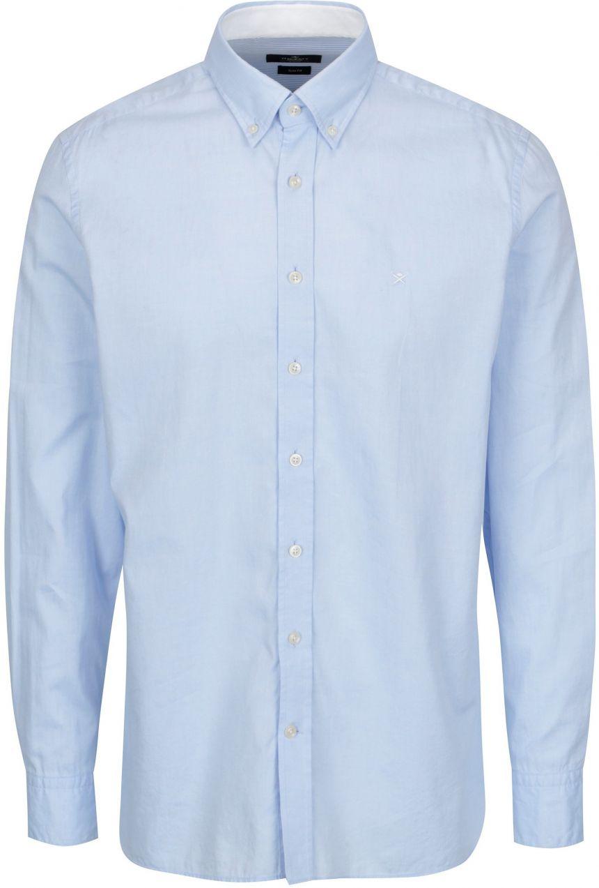 981f80bc167f Svetlomodrá slim fit košeľa Hackett London Oxford značky Hackett ...
