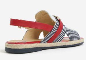 Červeno–modré dámske sandálky Geox Mary Kolleen značky Geox - Lovely.sk fbb45424ac