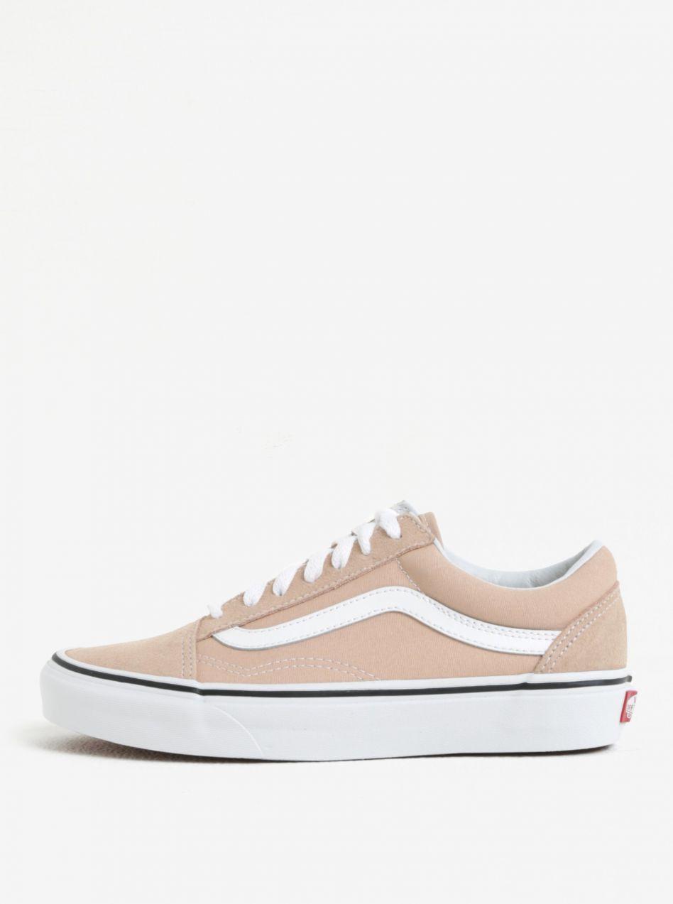 Béžové dámske tenisky VANS Old Skool značky Vans - Lovely.sk 9c2495342c4
