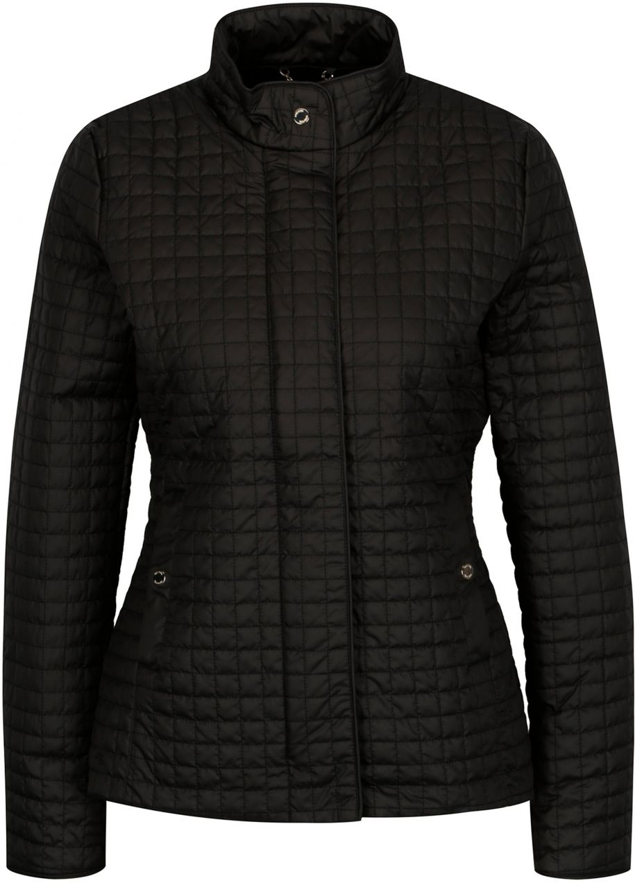 4d5bcc5b22 Čierna dámska prešívaná bunda Geox značky Geox - Lovely.sk