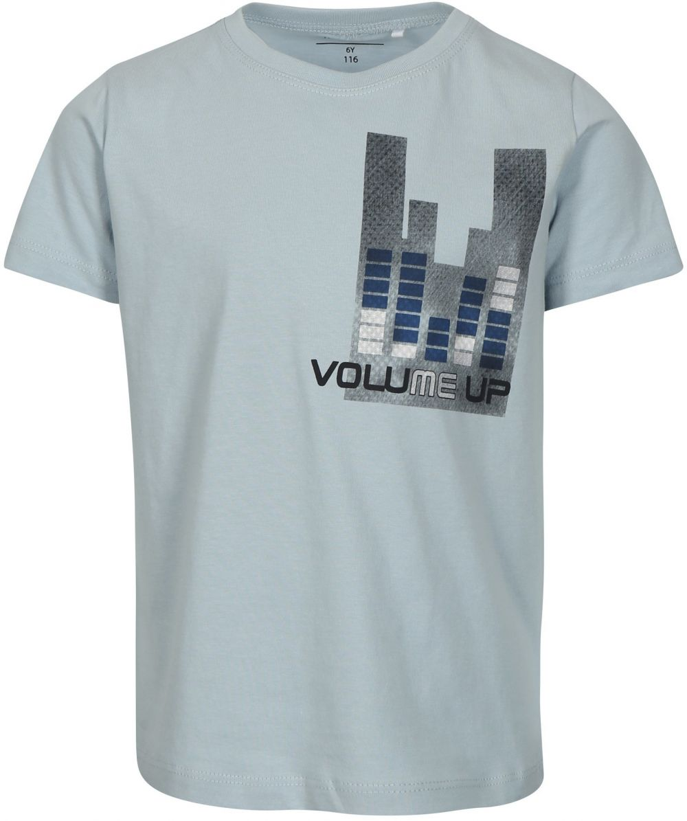 bc0785884cfa Modré chlapčenské tričko s potlačou name it Victor značky name it -  Lovely.sk