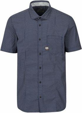 fcb005d50092 Tmavomodrá pánska pruhovaná košeľa s.Oliver značky s.Oliver - Lovely.sk