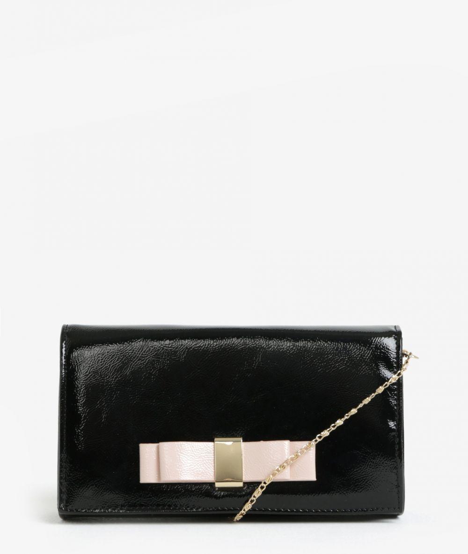 f4aa4c63423c Čierna listová kabelka s mašľou Dorothy Pekrins značky Dorothy Perkins -  Lovely.sk