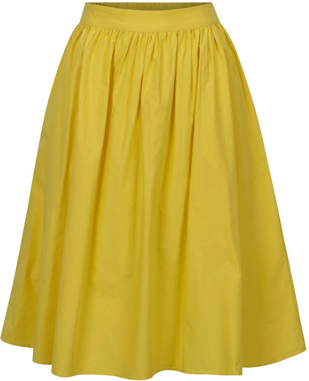 25c1a20e9269 Žltá sukňa VERO MODA Ladina značky Vero Moda - Lovely.sk