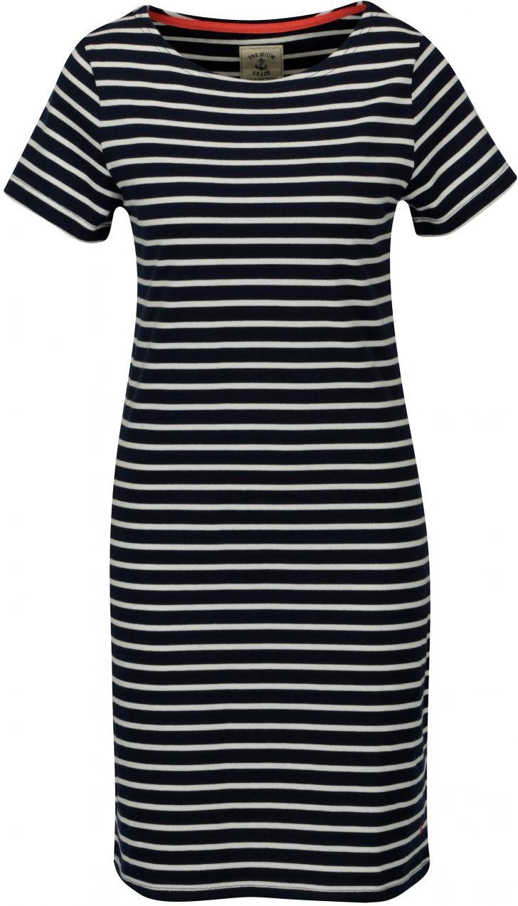 Tmavomodré pruhované šaty Tom Joule Riviera značky Tom Joule - Lovely.sk 4a0ab42a29