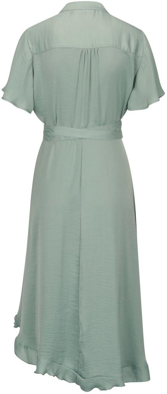 Svetlozelené asymetrické zavinovacie šaty VERO MODA Alanna značky Vero Moda  - Lovely.sk 01009dac236