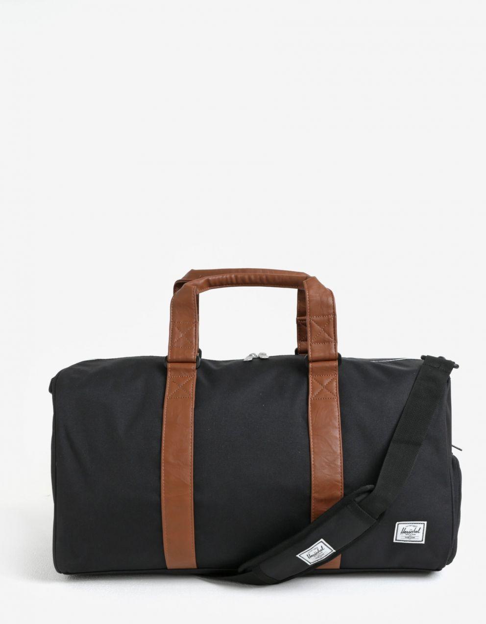 5af6f5e25 Čierna cestovná taška Herschel Novel Mid–Volime 33l značky Herschel -  Lovely.sk
