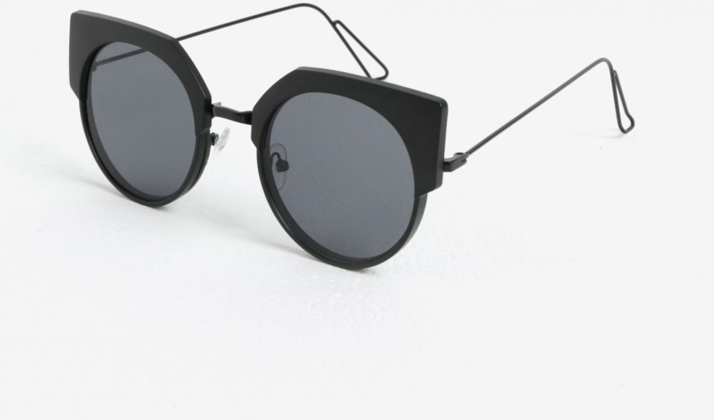 Čierne dámske okrúhle slnečné okuliare Jeepers Peepers značky Jeepers  Peepers - Lovely.sk 38310d26df4
