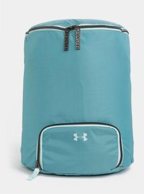 Sivo-tyrkysový dámsky vzorovaný batoh Under Armour značky UNDER ... e05b6816cb