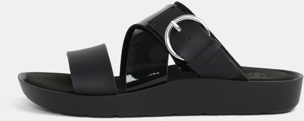e4a5125b85a3 Čierne dámske zdravotné papuče Scholl Marmaris značky Scholl - Lovely.sk