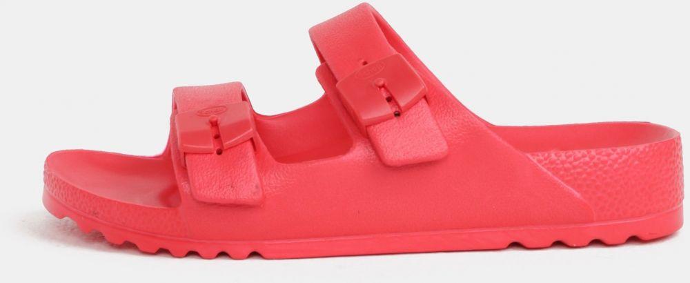 37eff0f611cf Červené dámske zdravotné papuče Scholl Bahia značky Scholl - Lovely.sk