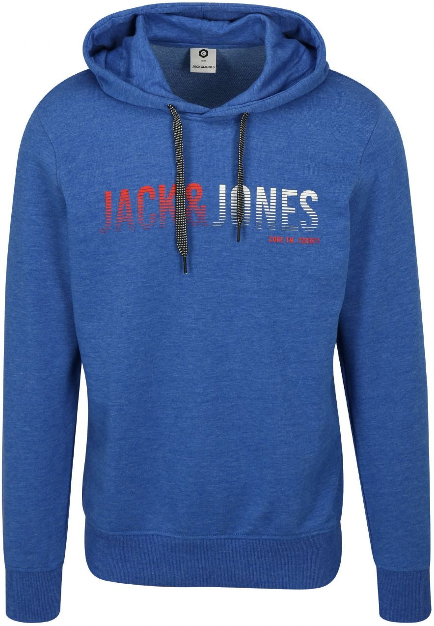 Modrá mikina s kapucňou Jack   Jones Colinn značky Jack   Jones ... bcea9709fb