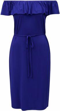 692a897e8984 Krémové kvetované šaty s odhalenými ramenami M Co značky M Co ...