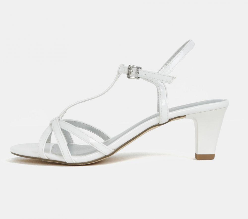 233950d5b11e Biele sandále na nízkom podpätku Tamaris značky Tamaris - Lovely.sk