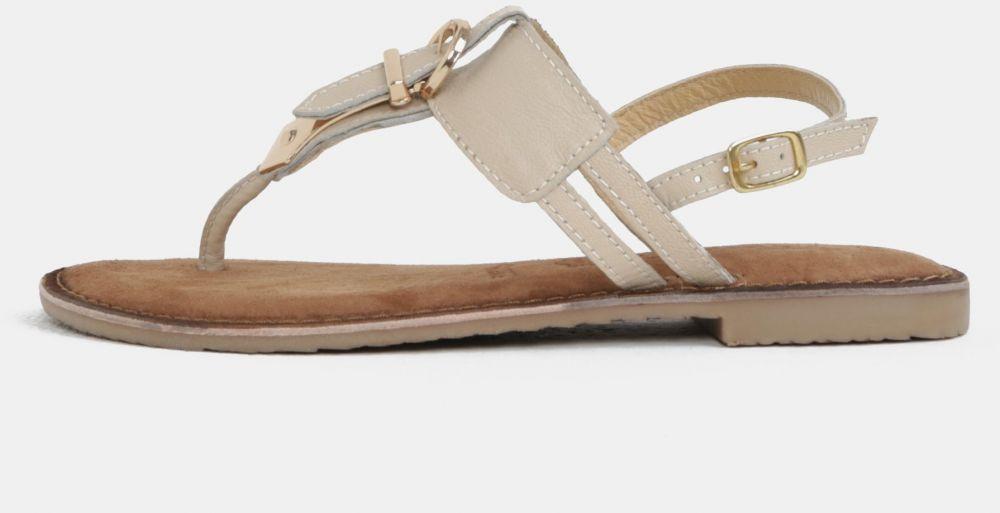 95e9ad127e Krémové ružové sandále s prackou Tamaris značky Tamaris - Lovely.sk