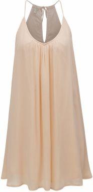 Svetloružové šaty s tenkými ramienkami Roxy Great Intentions 182fe6f92e