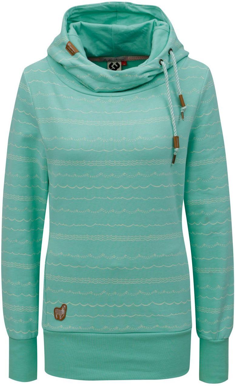 Svetlozelená dámska vzorovaná mikina Ragwear Yoda značky Ragwear ... 7e17d7c4859