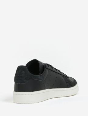 Čierne pánske kožené tenisky adidas Originals Avenue značky adidas ... 065388f6d8a