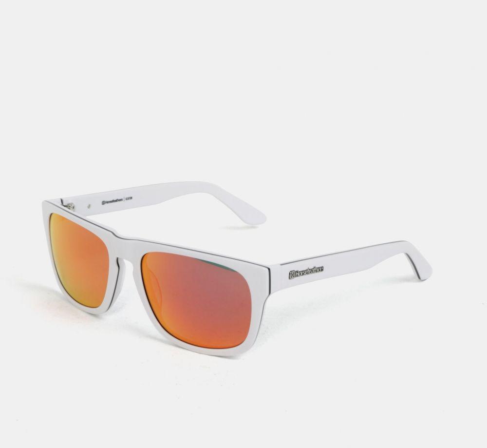 e300a7d5b Červeno-biele pánske slnečné okuliare Horsefeathers Keaton značky  Horsefeathers - Lovely.sk