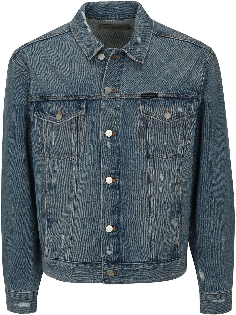 efd23a729 Modrá pánska rifľová bunda Calvin Klein Jeans značky Calvin Klein Jeans -  Lovely.sk