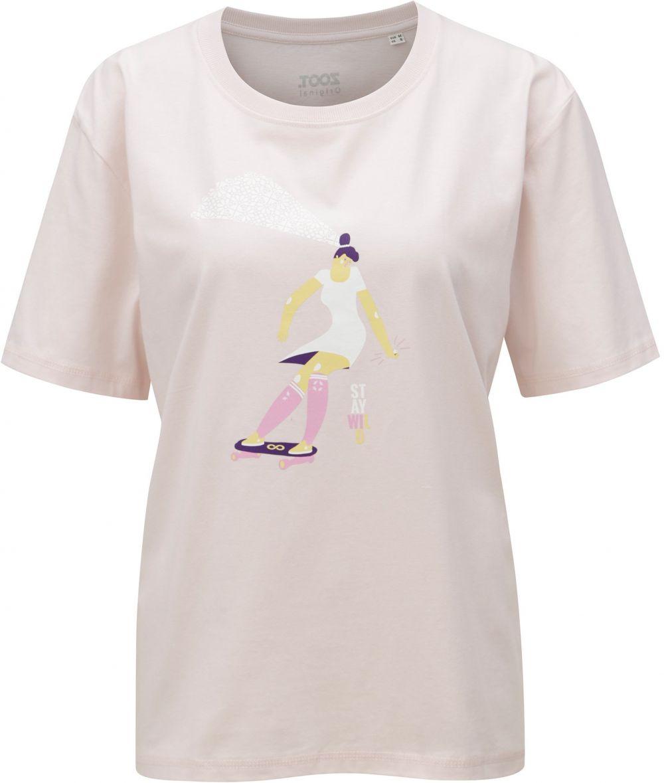 6a03b22a65e5 Svetloružové dámske tričko s potlačou ZOOT Stay wild značky ZOOT ...