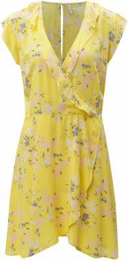 Žlté kvetované šaty Blendshe Kira 3963caf9b26