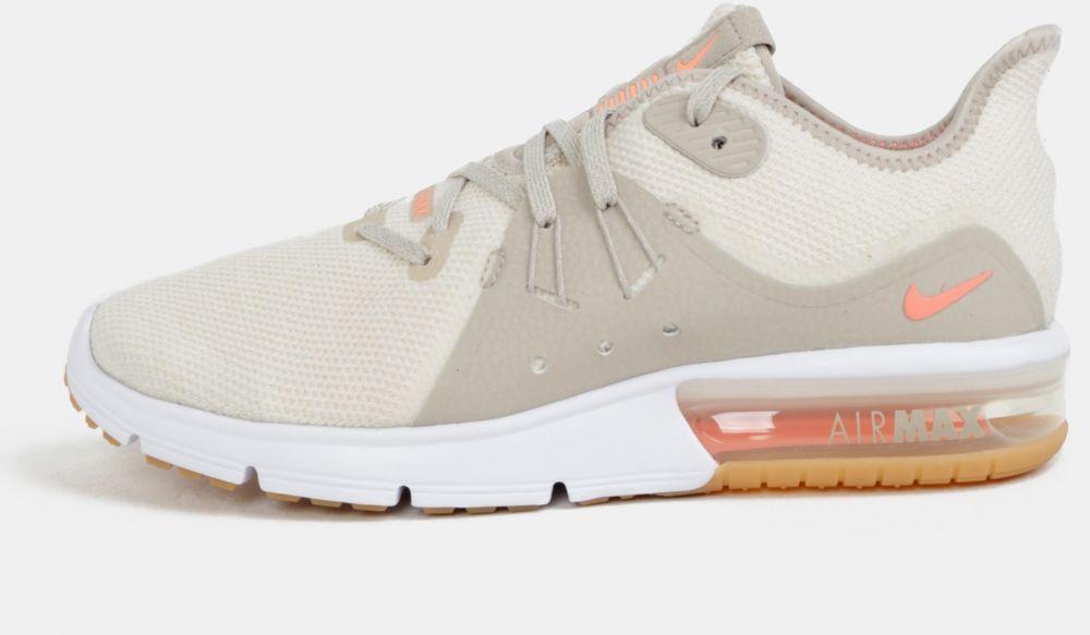 Krémové dámske tenisky Nike Air Max Sequent značky Nike - Lovely.sk 8502ff47d8