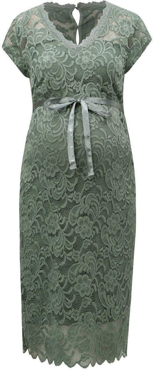 Zelené čipkované tehotenské šaty Mama.licious New mivana značky Mama.licious  - Lovely.sk a37bf2ed658
